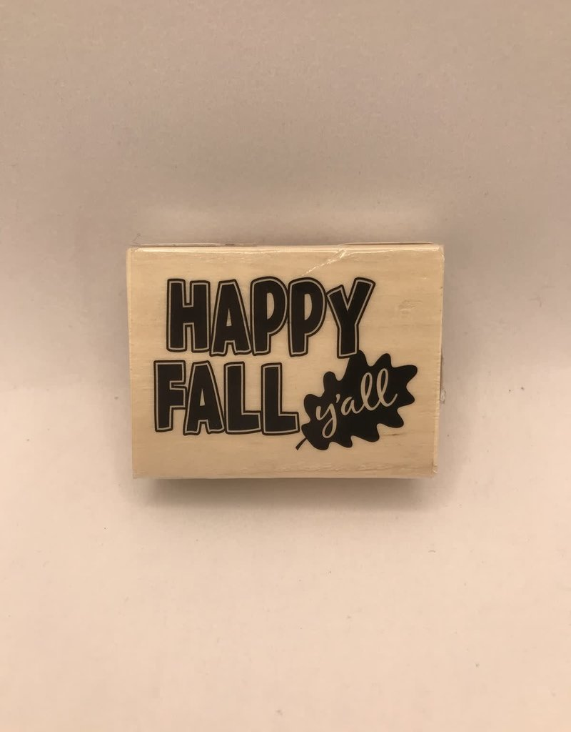 Stamp Happy Fall Y'all