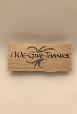 Stamp We Give Thanks