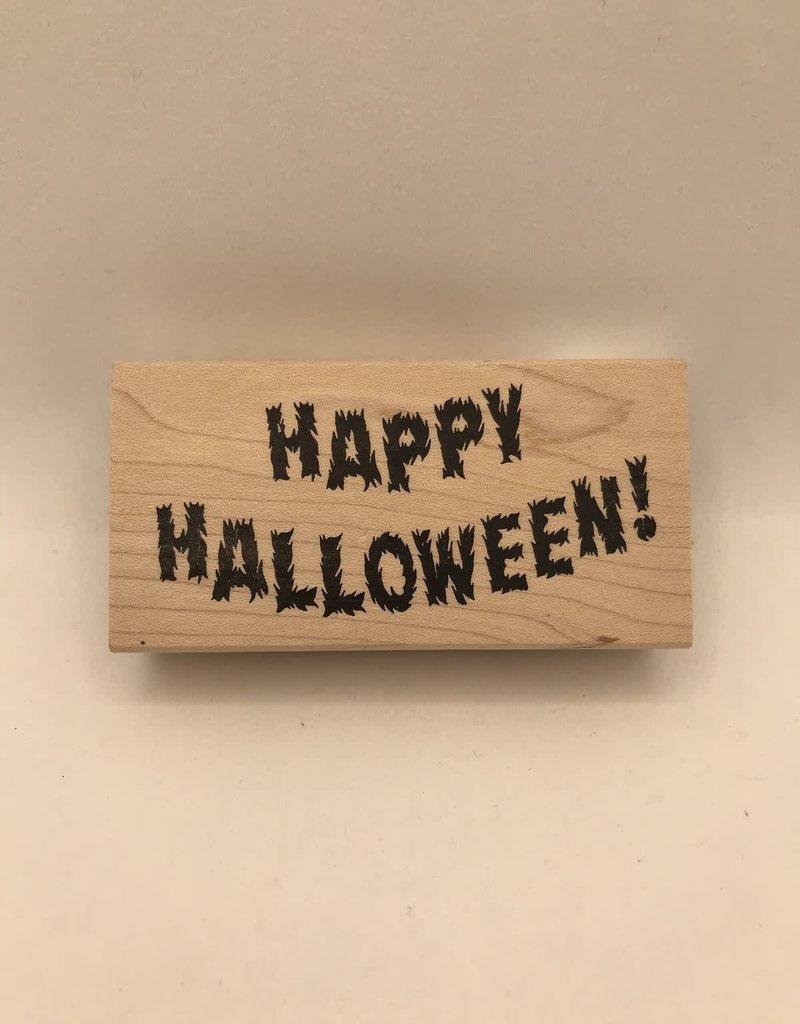 Stamp Furry Happy Halloween
