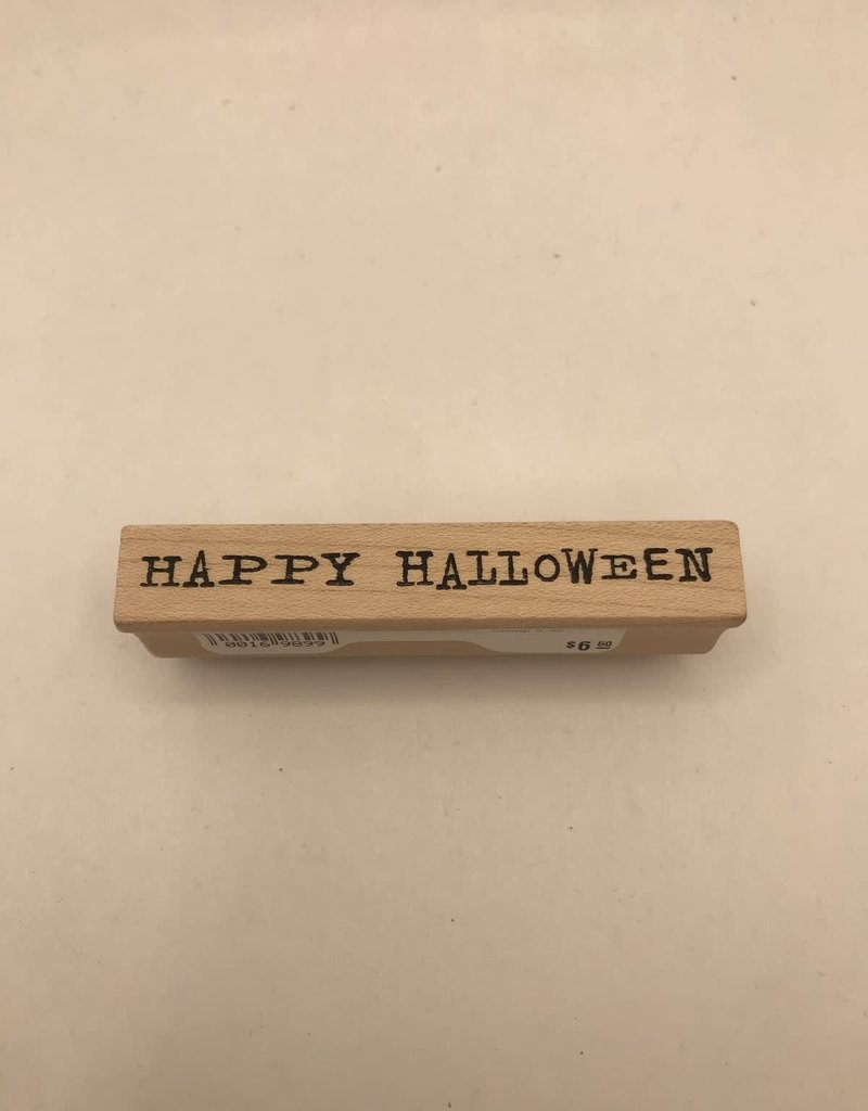 Stamp Happy Halloween Small