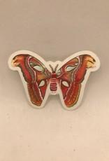 Katie Daisy Sticker Moth