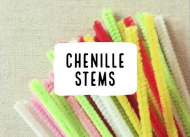 Chenille Stems