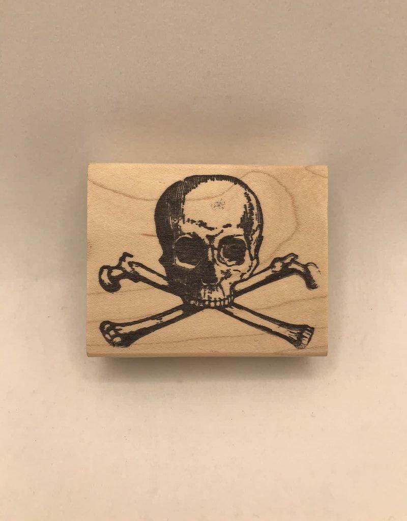 Leavenworth Jackson Stamp Large Skull And Crossbones