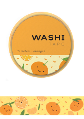 Girl of All Work Washi Oranges