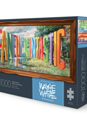Fred Puzzle White Fanfckntastc 1000 Piece
