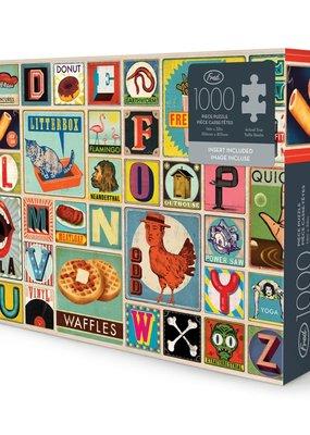 Fred Puzzle XYZ Blocks 1000 Piece