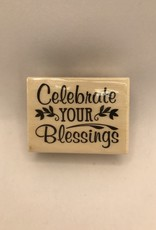 Darice Stamp Celebrate Your Blessings