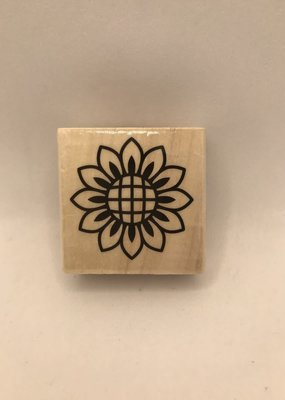 Darice Stamp Sunflower