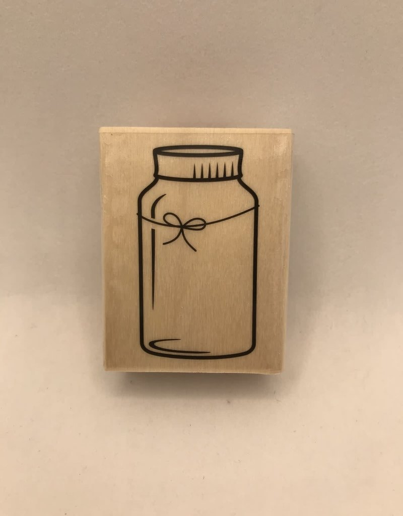 Darice Stamp Mason Jar