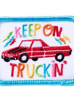 Lisa Congdon Patch Lisa Congdon Keep on Truckin