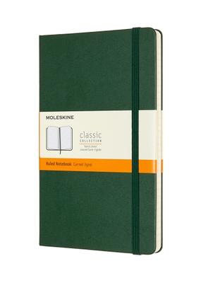 Moleskine Moleskine Classic Hard Cover Ruled Large Myrtle Green