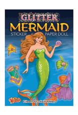 Dover Dover Glitter Sticker Books Mermaid