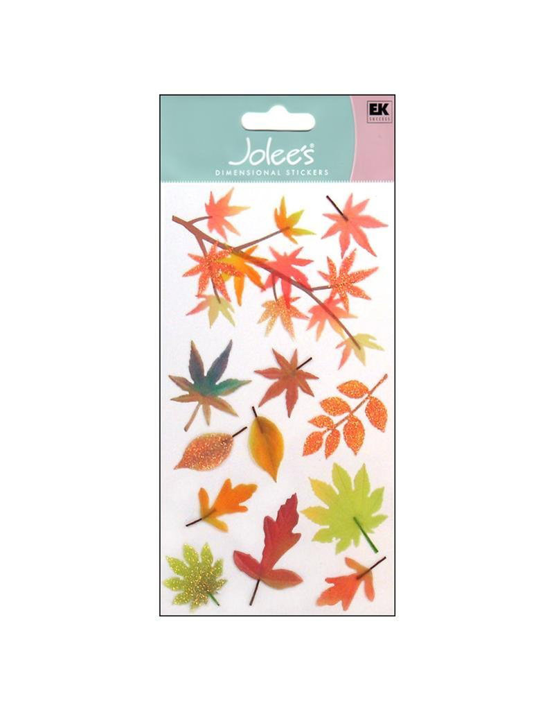 Jolee's 3D Sticker Vellum Fall Leaves