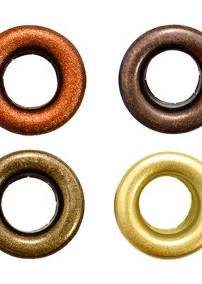 We R Memory Keepers We R Memory Crop-A-Dile Eyelet Standard Warm Metal