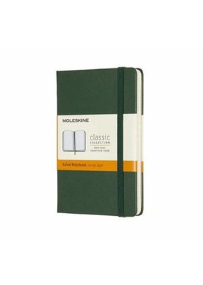 Moleskine Moleskine Classic Hard Cover Ruled Pocket Myrtle Green