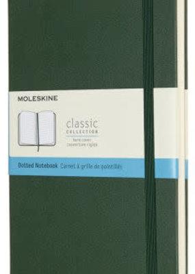Moleskine Moleskine Classic Hard Cover Dot Grid Large Myrtle Green