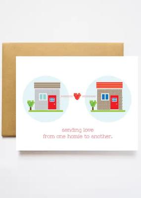 Ilootpaperie Card Homie To Homie