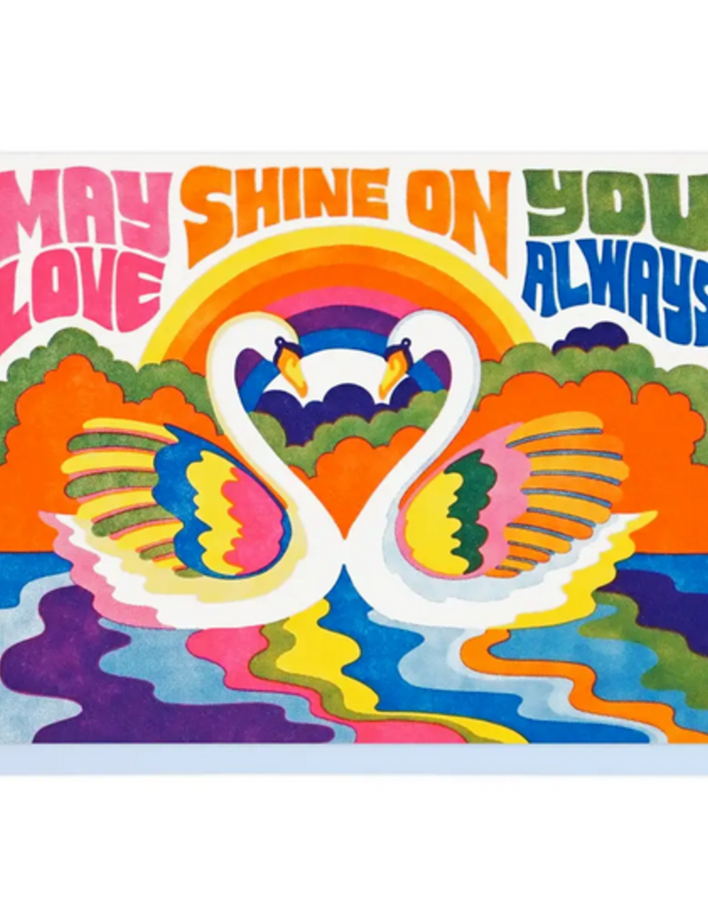 Lucky Horse Press Card May Love Shine On You Always