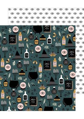American Crafts 12x12 Paper Hocus Pocus