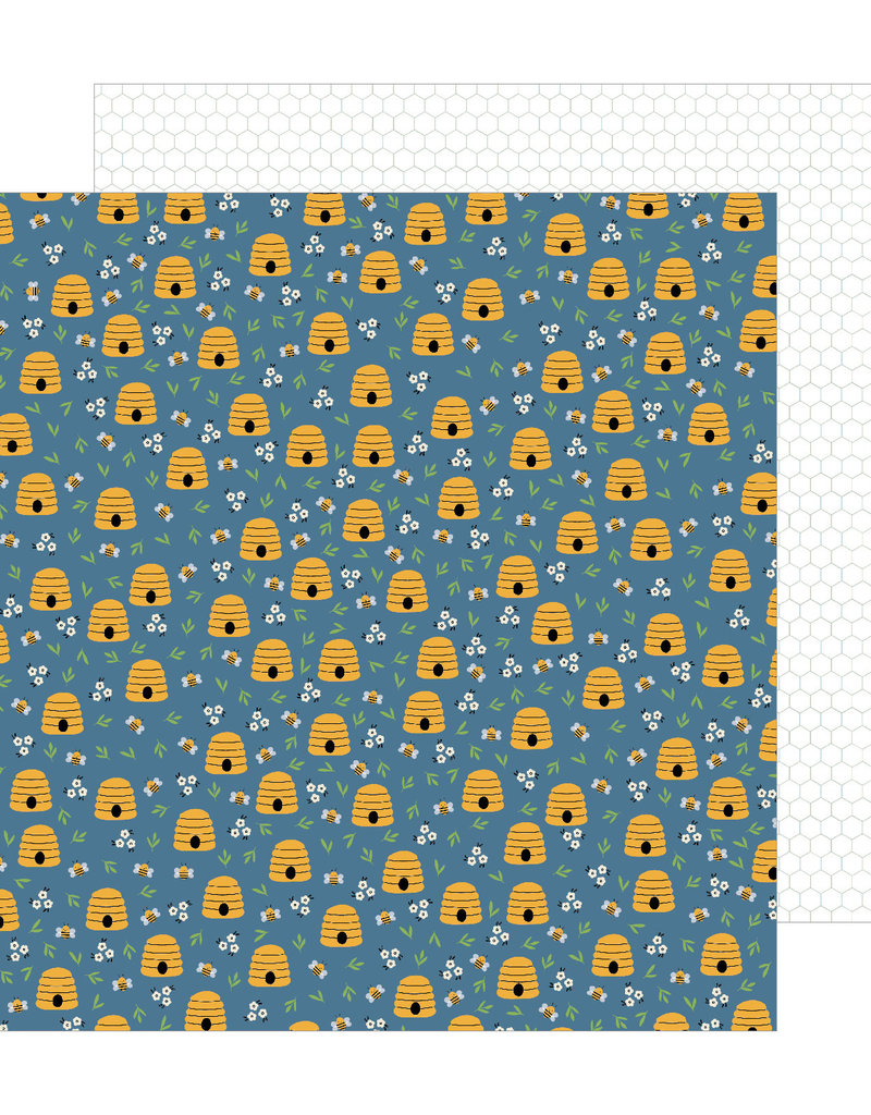 American Crafts 12x12 Paper Honeycomb Ct.