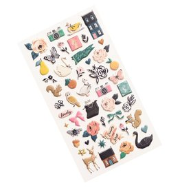 Sticko Stickers Marigold Puffy