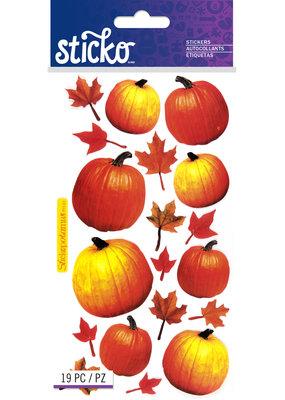 Sticko Stickers Autumn Pumpkins