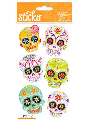 Sticko Stickers Sugar Skulls