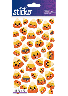 Sticko Stickers Candy Corn Characters