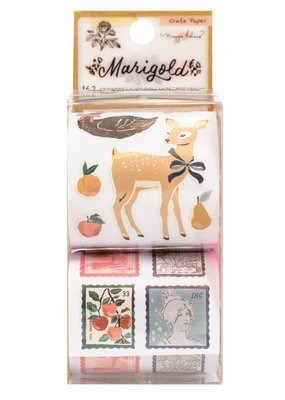 American Crafts Sticker Rolls Marigold