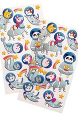 Sticko Stickers Space Animals