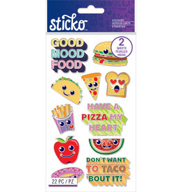 Sticko Stickers Food Enamel