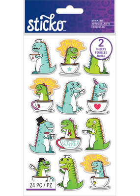 Sticko Stickers Tea-Rex