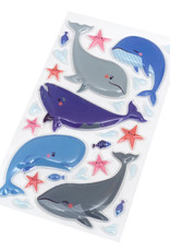 Sticko Sticker Puffy Whales