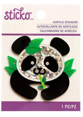 Sticko Sticker Panda Acrylic