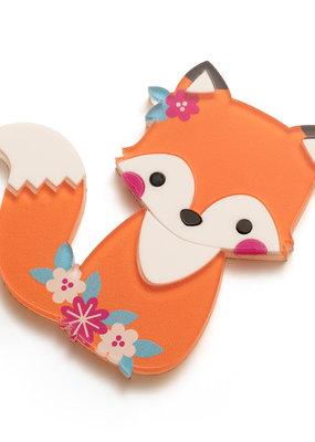Sticko Sticker Fox & Flowers Acrylic
