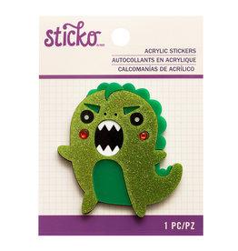 Sticko Sticker Dinosaur Acrylic