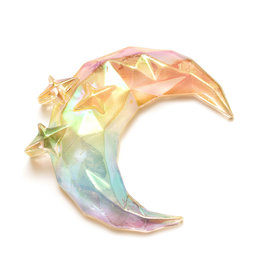Sticko Sticker Moon & Stars Prism Gem