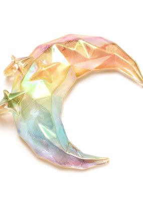 Sticko Sticker Moon & Stars Prism Gem