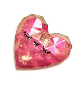 Sticko Sticker Heart Prism Gem