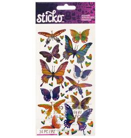 Sticko Stickers Mylar Butterflies