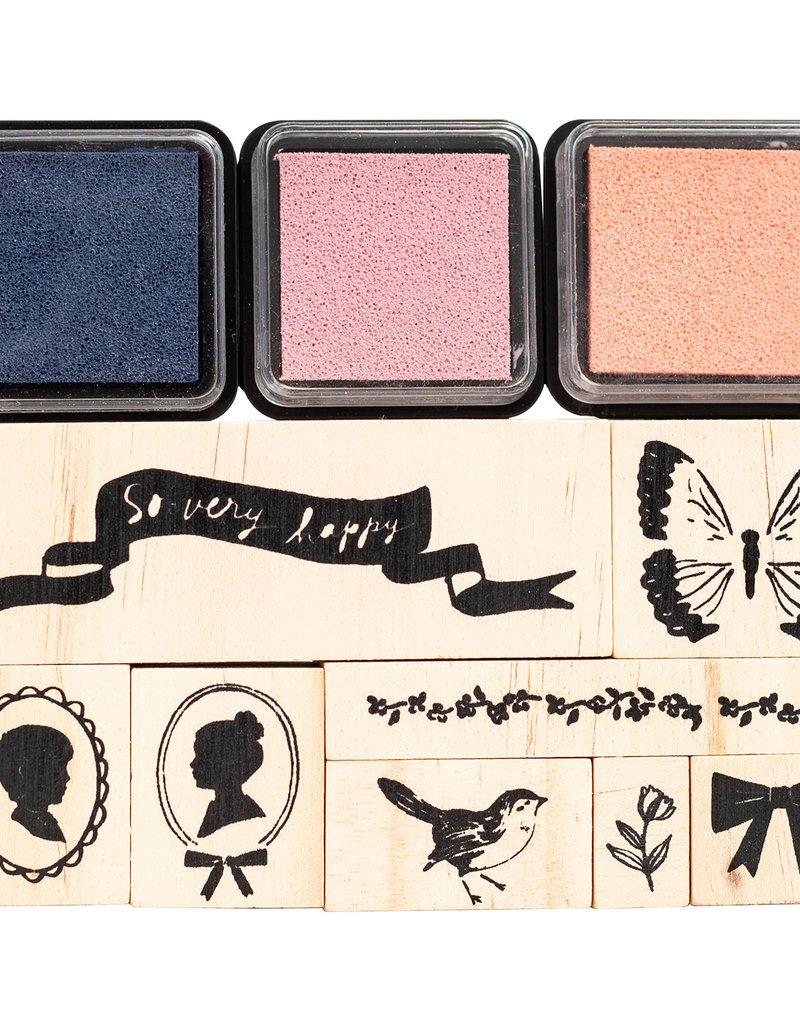 Maggie Holmes 11 Piece Designer Stamp Set Maggie Holmes Heritage