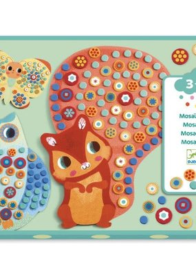 DJECO Millefiori Sticker Mosaic Collage Kit