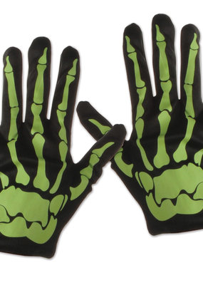 Skeleton Gloves Nite Glo