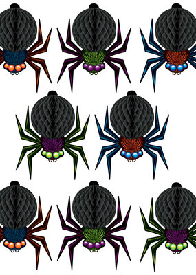 Mini Tissue Spiders