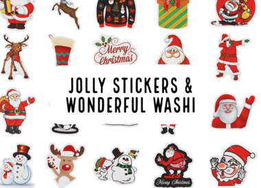 Jolly Stickers & Wonderful Washi