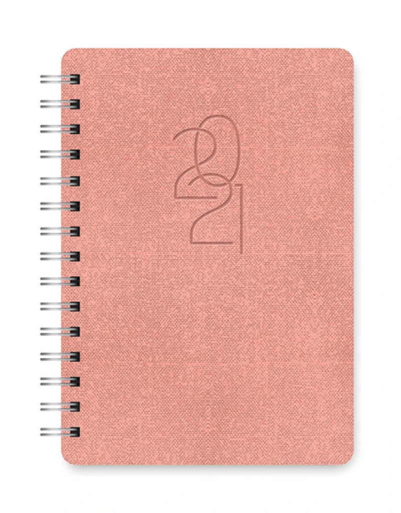 Studio Oh! Agatha Planner Coral Pink