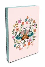 Studio Oh! Coptic Bound Journal Medium Floral Moth