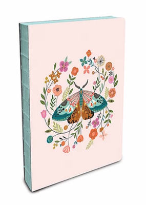 Studio Oh! Coptic Bound Journal Medium Floral Moth