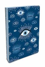 Studio Oh! Coptic Bound Small  Journal Evil Eye