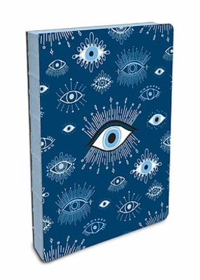 Studio Oh! Coptic Bound Small  Journal Evil Eye